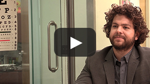 Jack Osbourne in the Leading the MS Fight Webisode